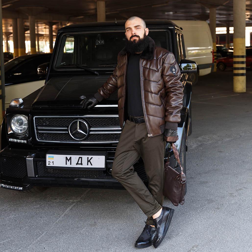С чем носить кожаную куртку – советы стилиста