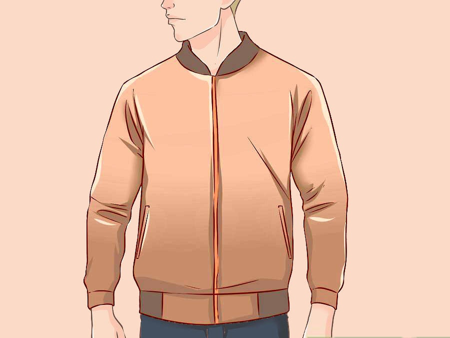 Выбирайте бомбер, если у Вас худощавая фигура, с широкими плечами