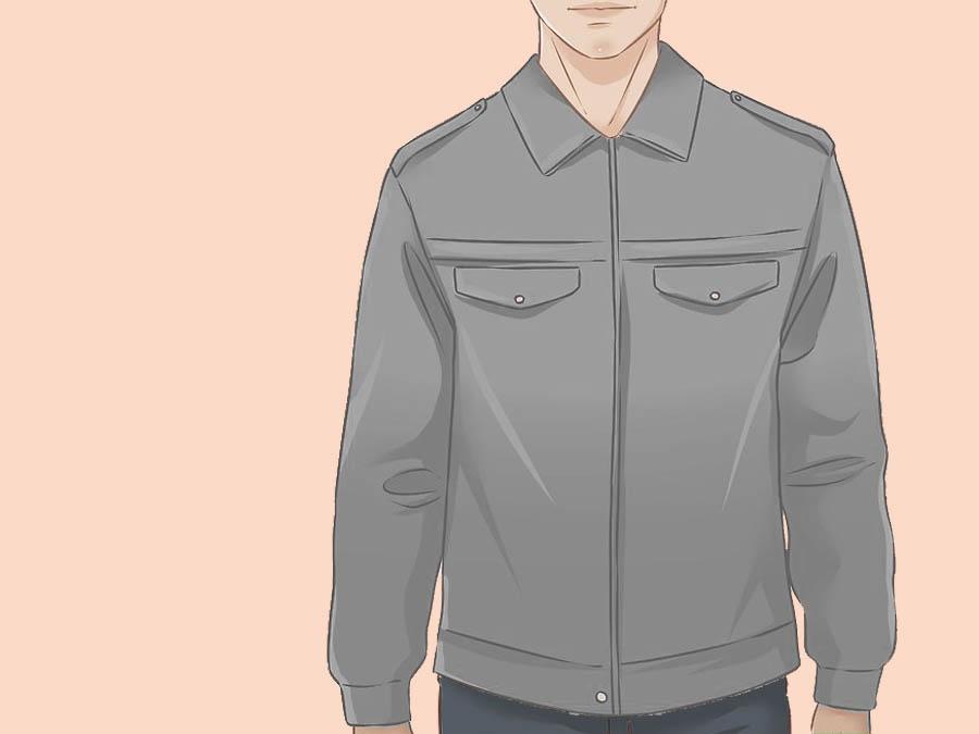 Купите повседневную байкерскую куртку, если вы высокого роста
