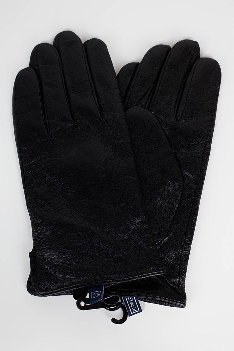 Рукавички чоловiчi з натуральної шкіри чорні, модель GM-06-1