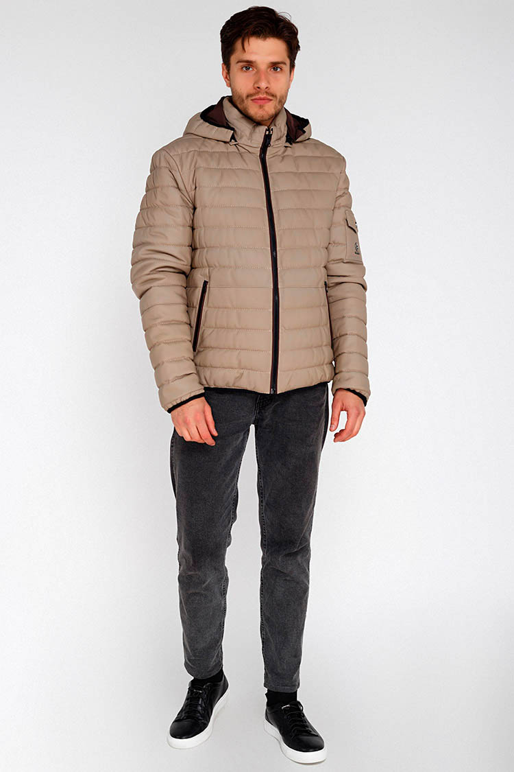 Оберіть опції Куртка чоловіча з натуральної шкіри бежева b51e187559256