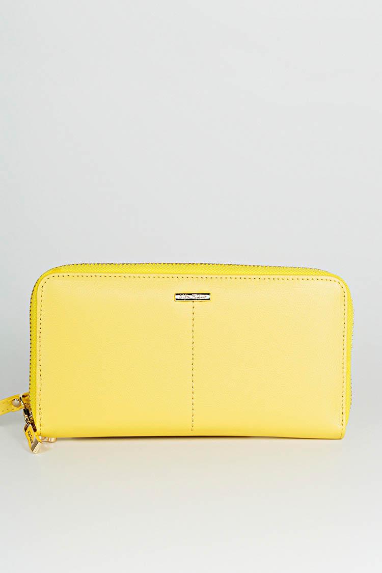 c3e710b2dc6e Купить кошелек женский из натуральной кожи желтый, модель 3838 594702, цена  1301 в Украине | Интернет-магазин