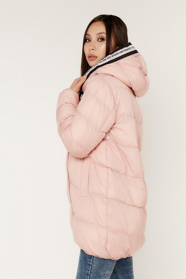 Куртка жiноча з полиэстера бежева, модель 00114/KPS