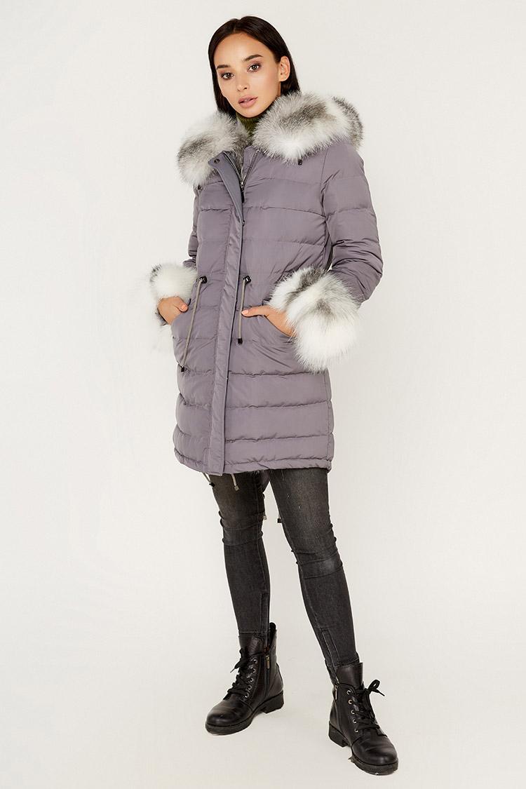 Куртка женская из полиэстера мультиколор, модель B-004/PARKA