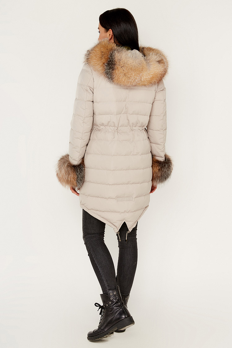 Куртка жiноча з полиэстера різнокольоровый, модель B-004/PARKA