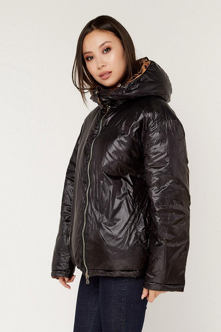 Куртка жiноча з полиэстера різнокольоровый, модель T5199/KPS/двухст