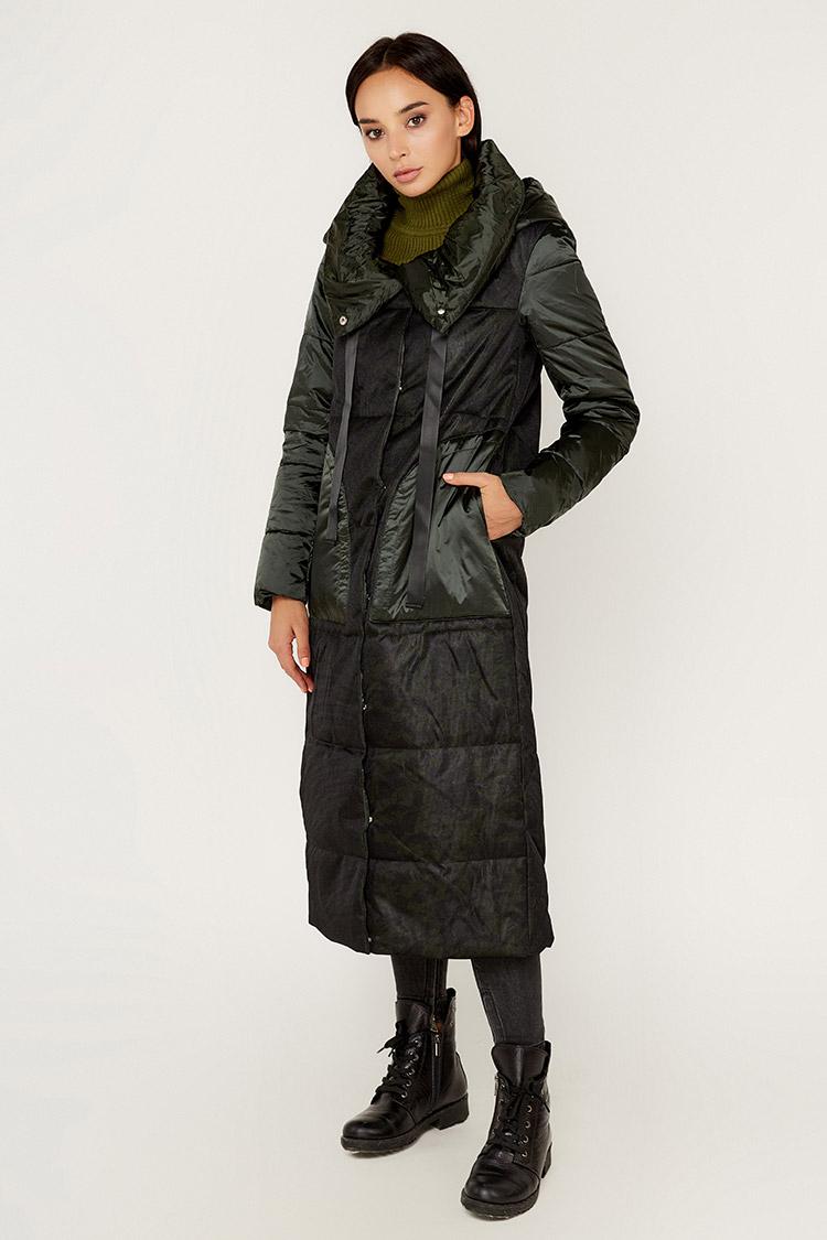 Куртка жiноча з полиэстера різнокольоровый, модель E8204/KPS