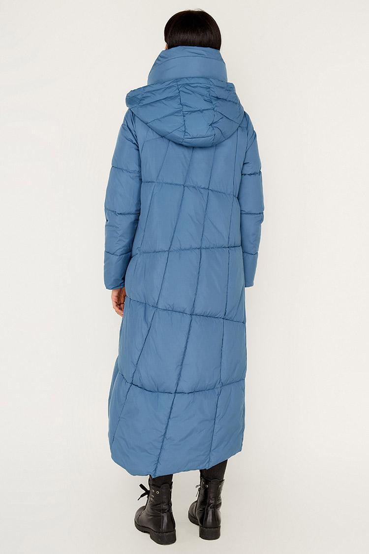 Куртка жiноча з полиэстера синя, модель K2008/KPS