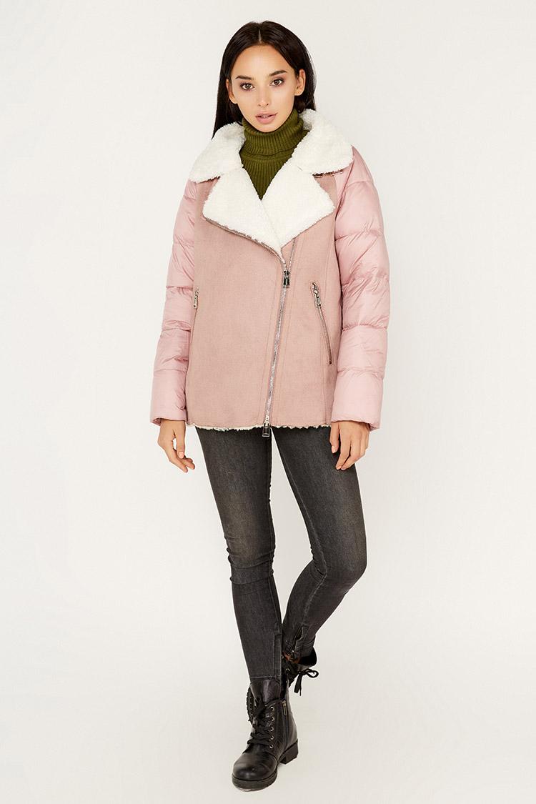 Куртка женская из полиэстера мультиколор, модель M-9257