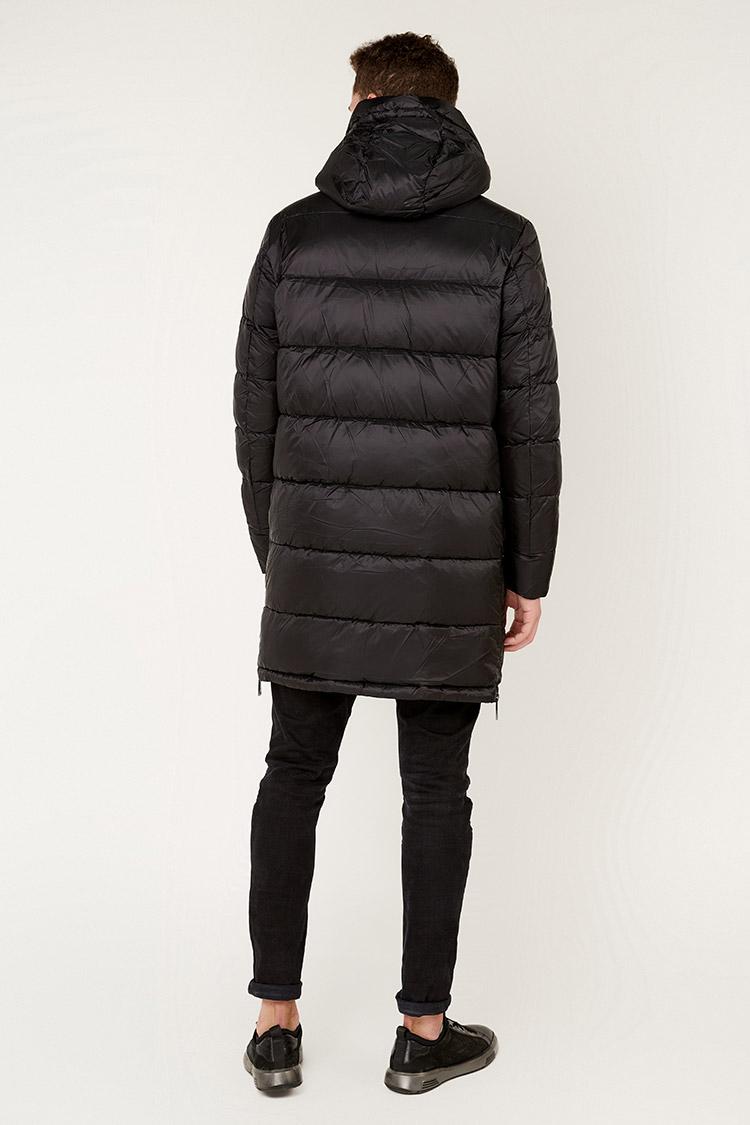 Куртка чоловіча з полиэстера чорна, модель 69AW901M/KPS