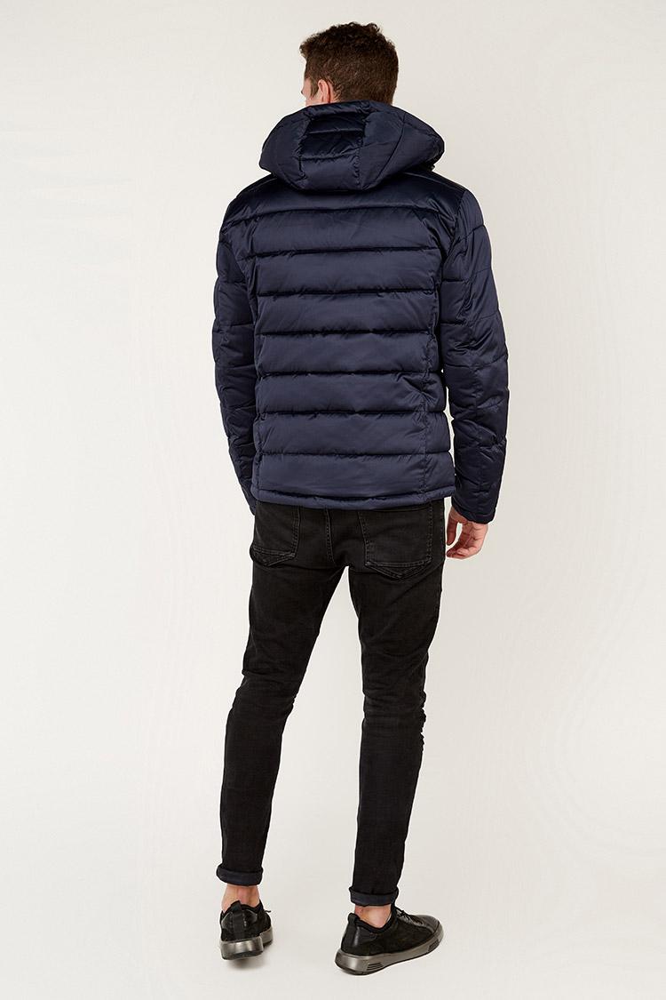 Куртка чоловіча з полиэстера синя, модель 69AW888M/KPS