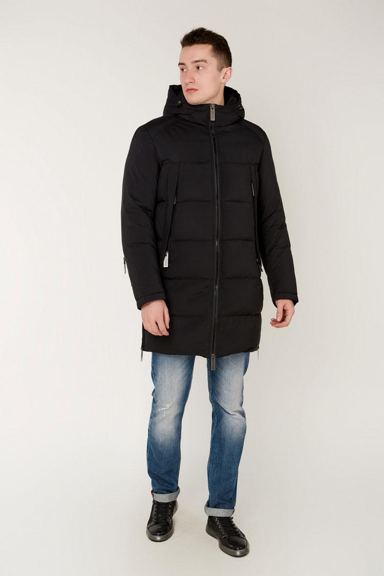 Куртка мужская из полиэстера черная, модель 69AW1000M/KPS