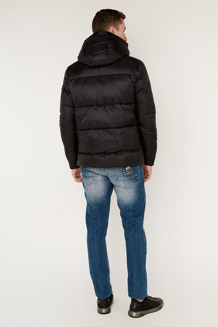 Куртка чоловіча з полиэстера чорна, модель 69AW597/KPS