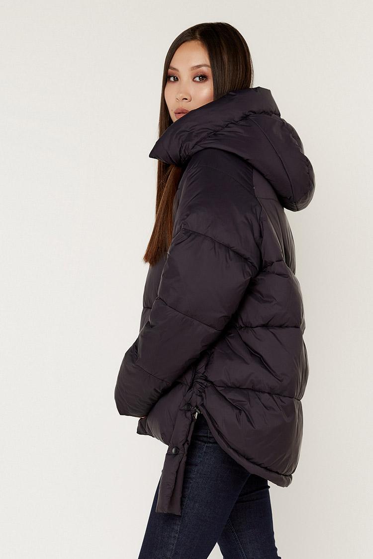 Куртка жiноча з полиэстера синя, модель K2006/KPS