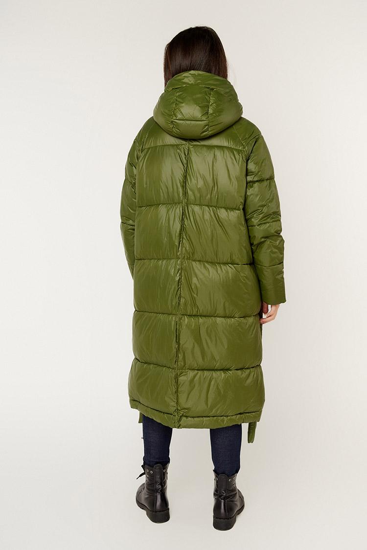 Куртка жiноча з полиэстера зелена, модель T5188/KPS