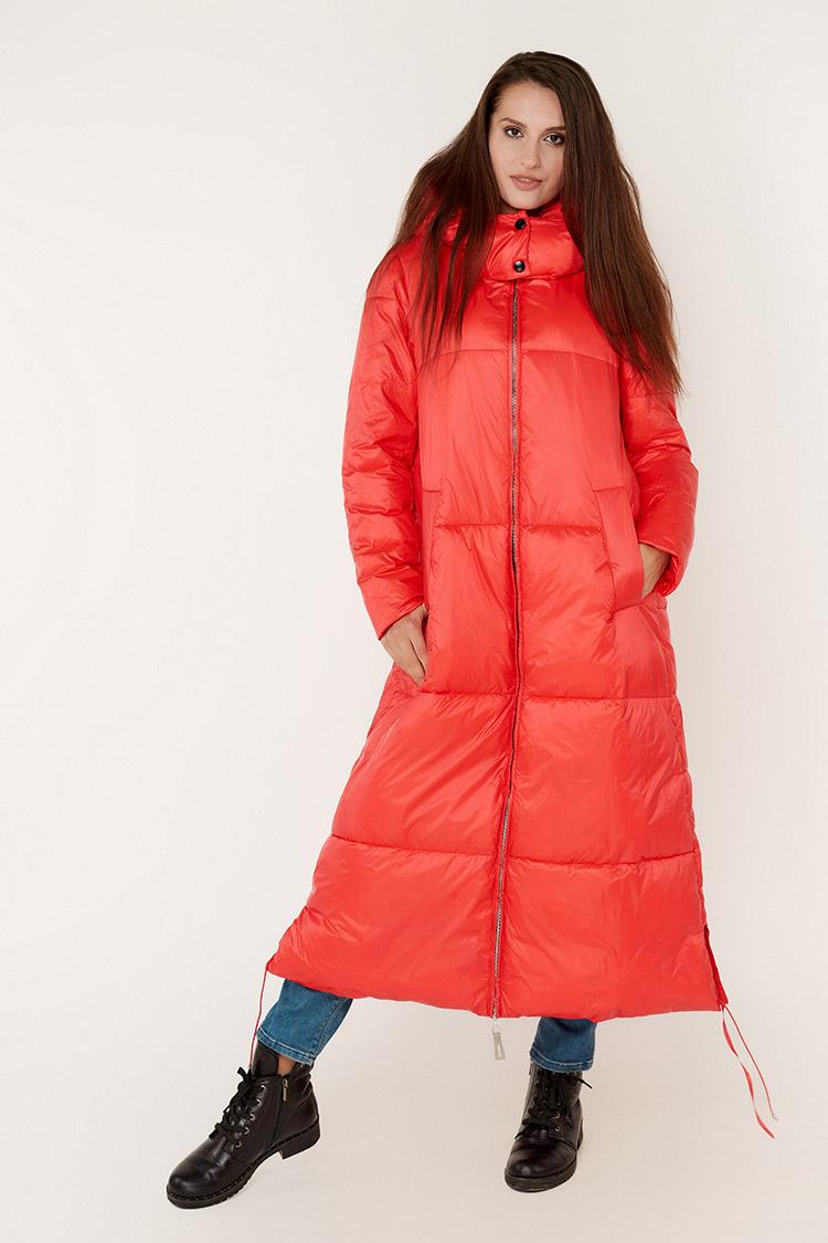 Куртка жiноча з полиэстера червона, модель M3510/KPS