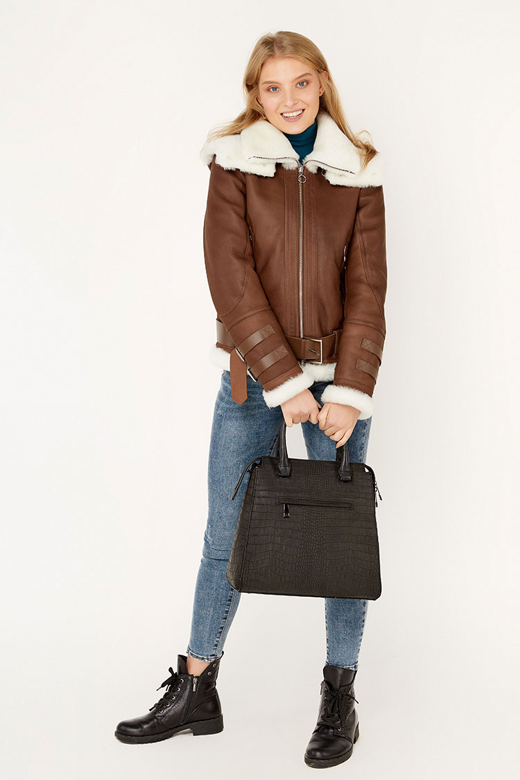 Мужские и женские кожаные куртки, дубленки, шубы, сумки в Днепре